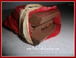 DIY Chocolate Soap
