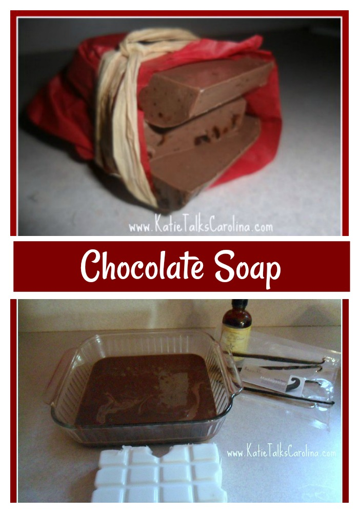 chocolate soap DIY