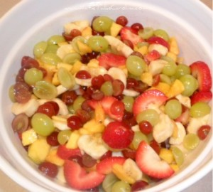 easy fruit recipe