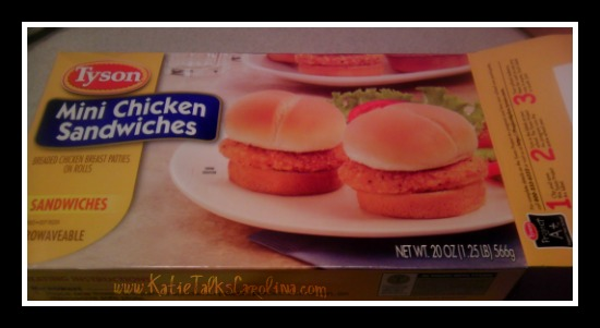 #tysongoodness, #CBias, quick dinner, easy dinner, tyson, tyson mini chicken sandwiches