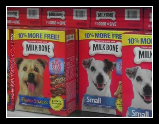 doggie gift basket, milk bone treats, pupperoni treats, milos Kitchen, cbias