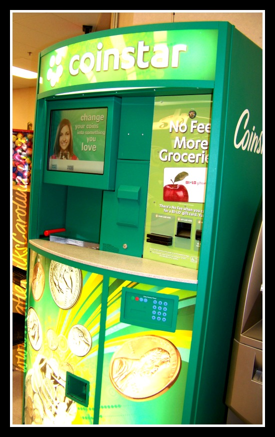 No Fee For Turning Your Change into a Bi-Lo Gift Card at Coinstar! #NoFeeCoinstar @CBias