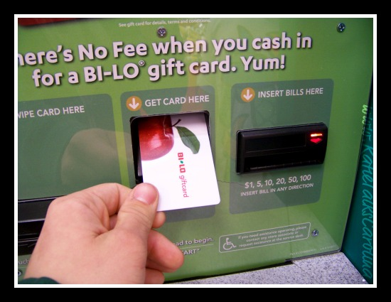 No Fee For Turning Your Change into a Bi-Lo Gift Card at Coinstar ...