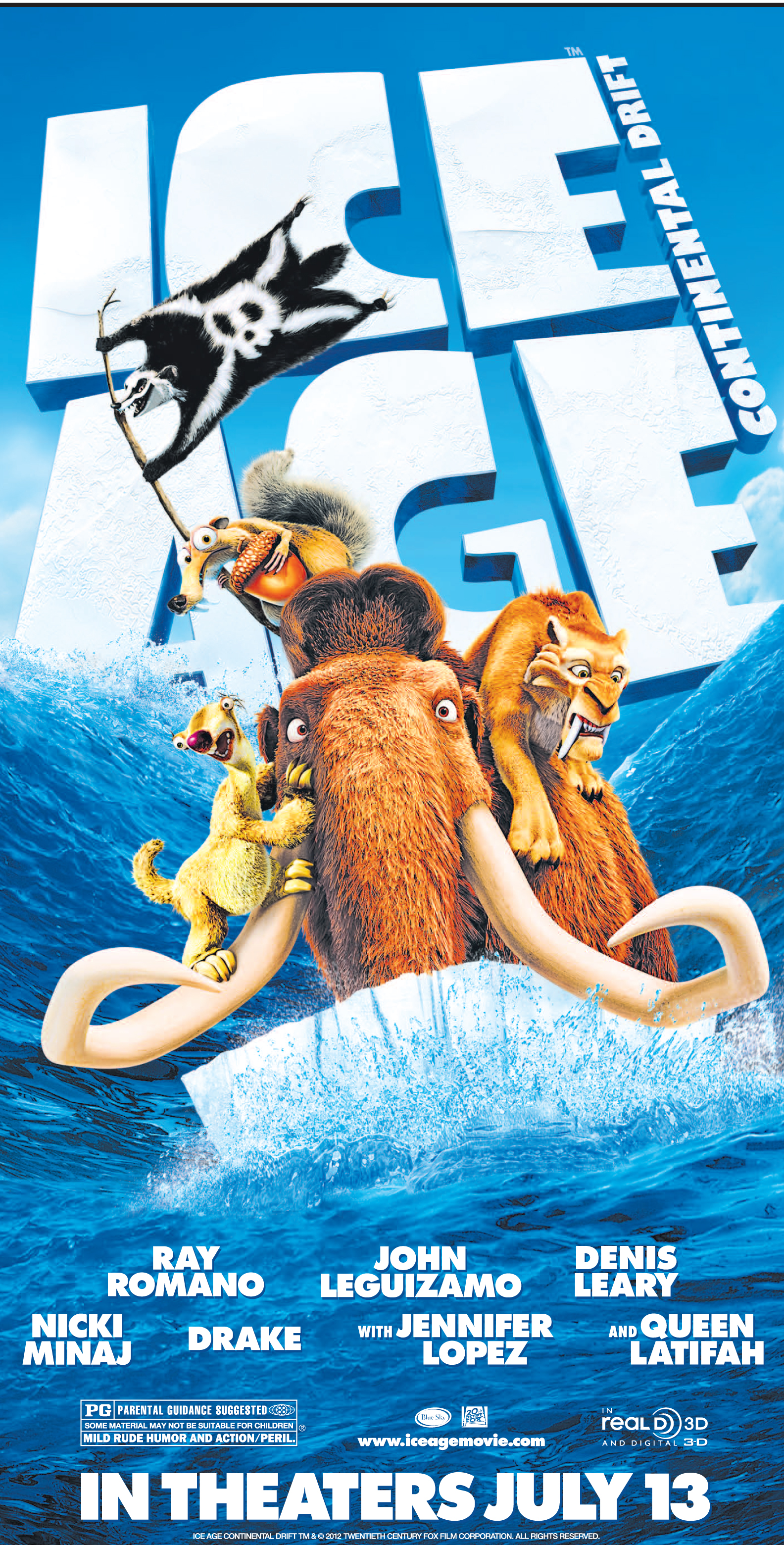 Win Tickets to See a Sneak Preview of Ice Age July 7th #clt
