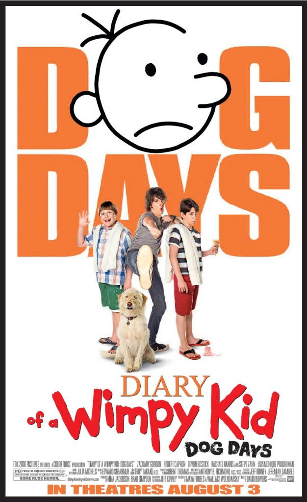 Win Tickets to See a Sneak Preview of DIARY OF A WIMPY KID: DOG DAYS July 31 #clt