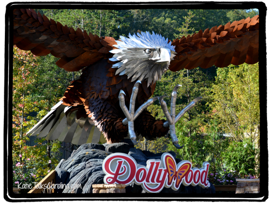 winged roller coaster, dollywood, things to do in pigeon forge