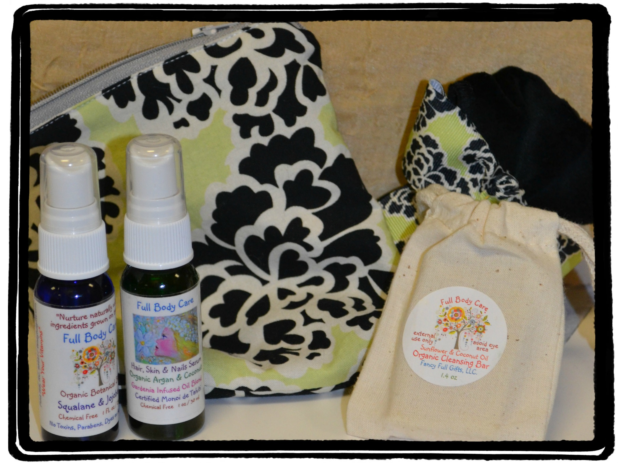 Full Body Care Botanical Oils Review & Giveaway
