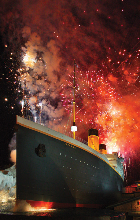 Titanic Museum, Pigeon Forge, TN Ticket Giveaway – Thanksgiving Firework Spectacular
