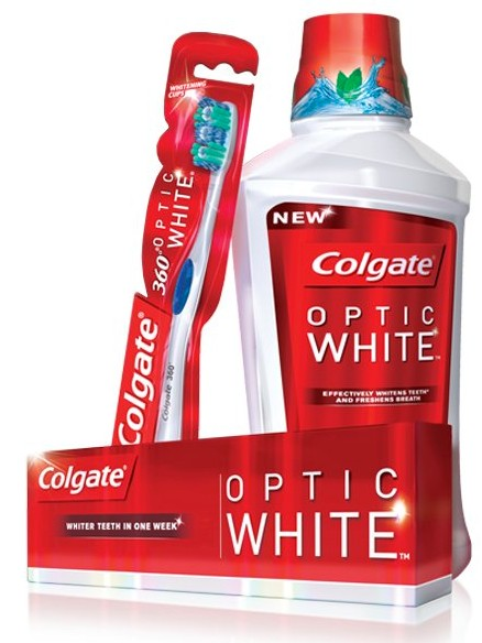 Were Your Teeth Sparkling This Holiday Season? Colgate Optic White Regimen