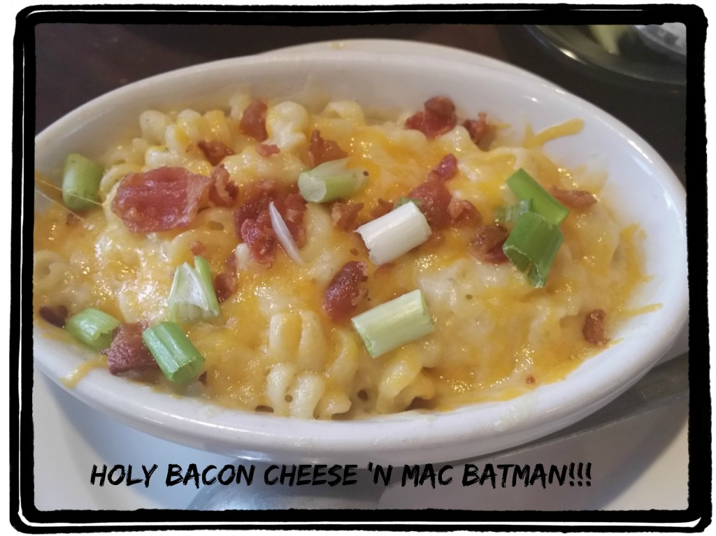 bacon and cheese mac