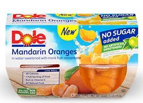 dole no sugar added oranges