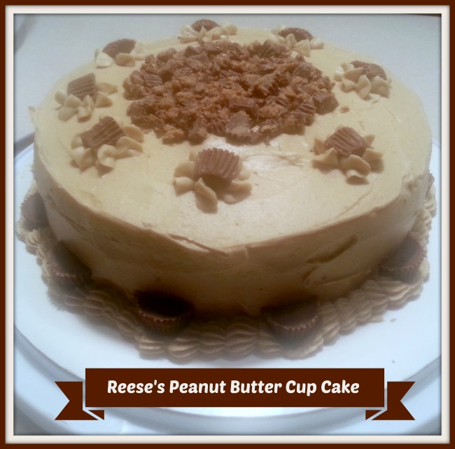 The Best Reese's Peanut Butter Cup Cake Recipe