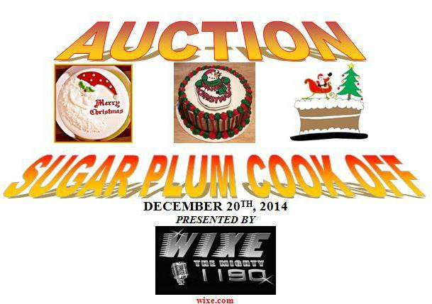 Sugar Plum Cook Off December 20th Presented by WIXE 1190 – Benefiting HomeTown Heroes