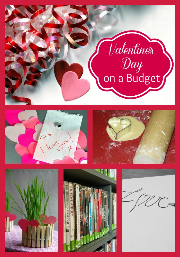 celebrate valentine's day on a budget, Ideas