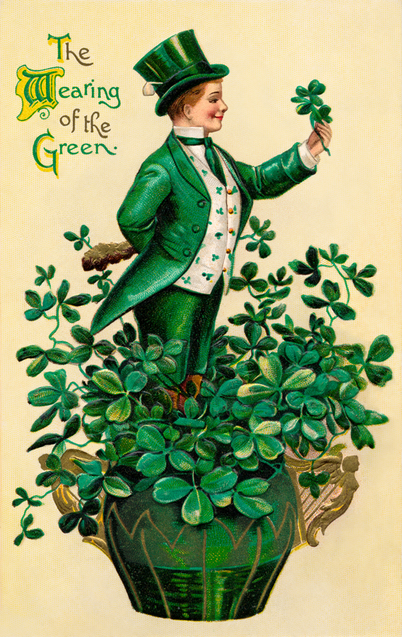 st. patrick's day, leprechaun, legends and myths st. patrick's day