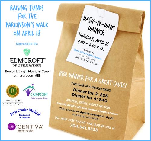 Dash-N-Dine Fundraiser for Parkinson's Walk