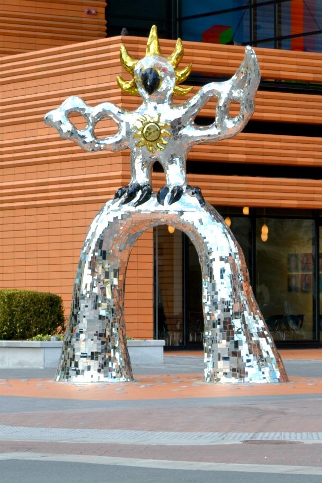 Bechtler Museum Firebird Statue