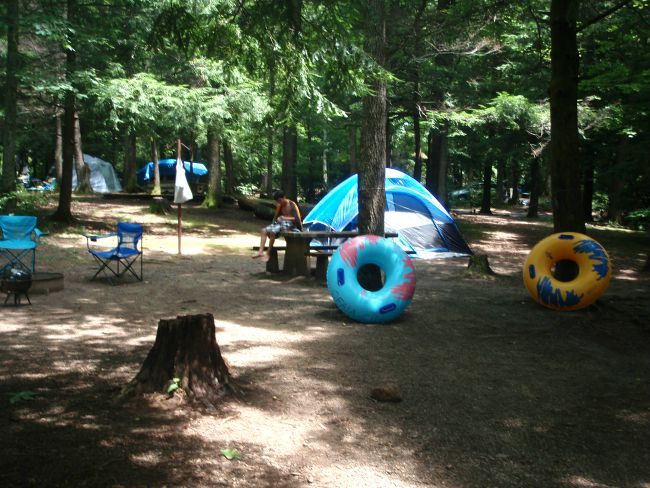 camping, camping in NC,