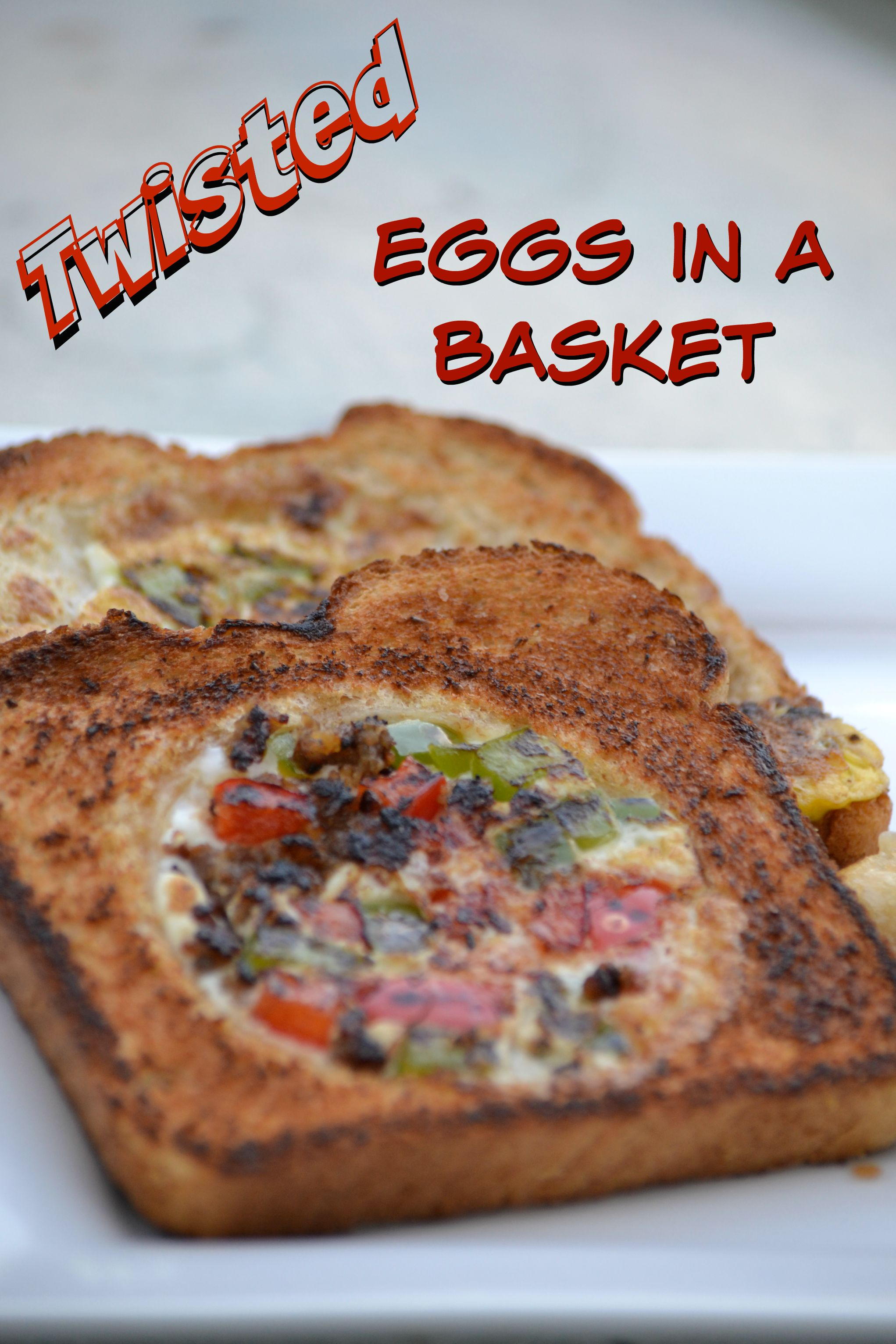 Twisted Eggs In a Basket