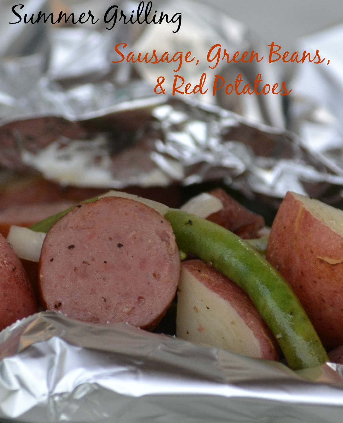 Sausage green beans red potatoes