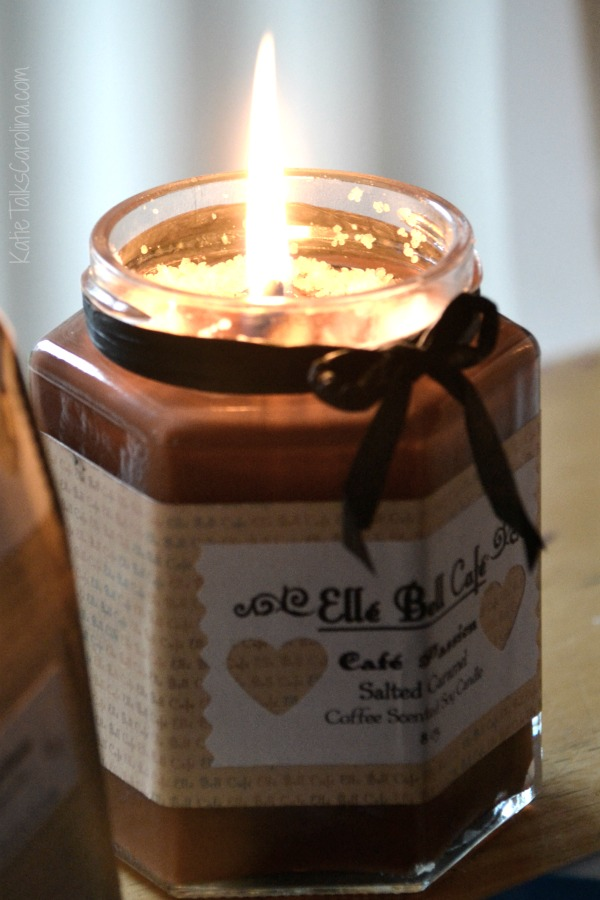 coffee lovers candle