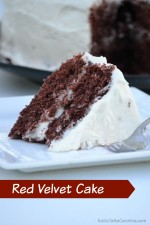 Easy Red Velvet Cake Recipe with Home Made Buttercream Frosting