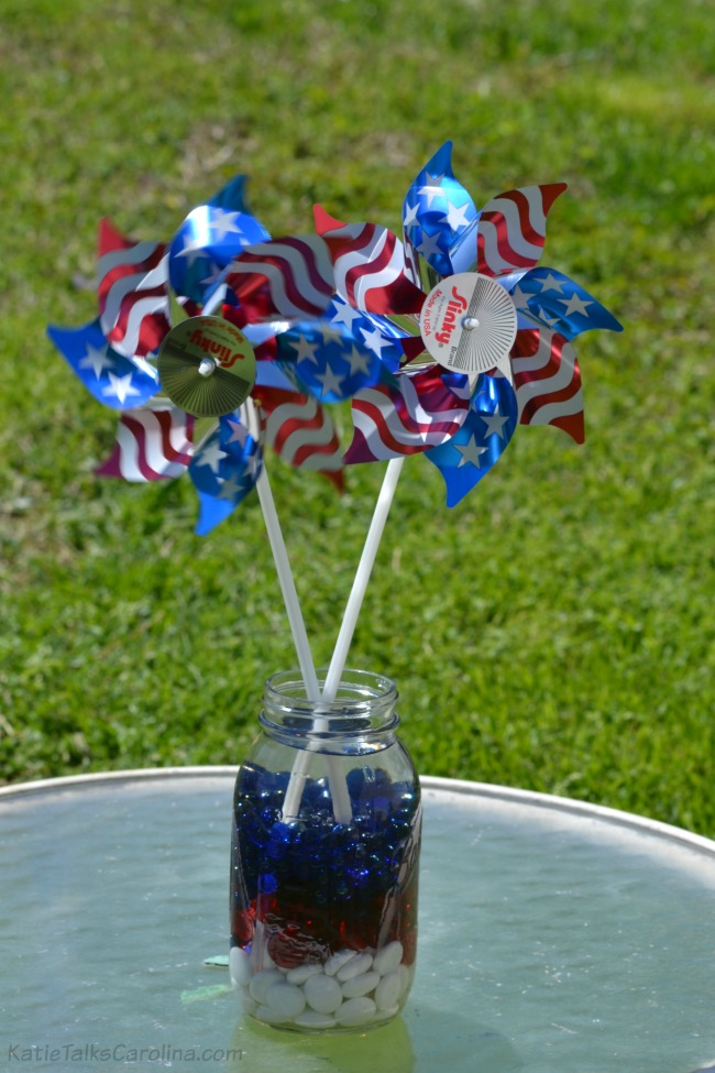 Red White and Blue Table Decorations 2