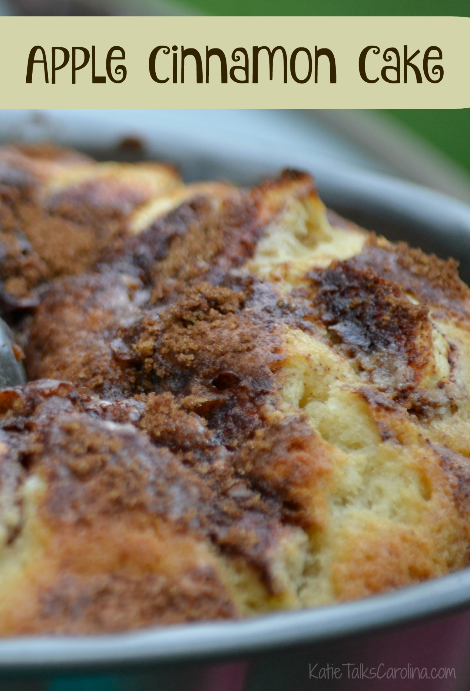 Apple Cinnamon Cake Recipe