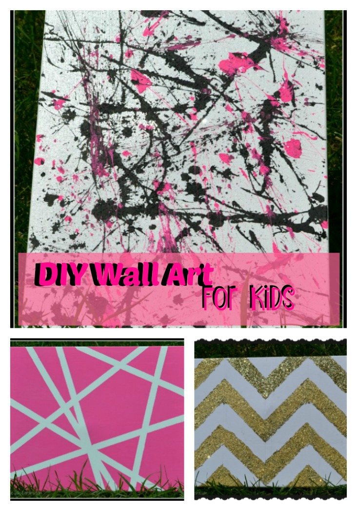 DIY Wall Art For Kids