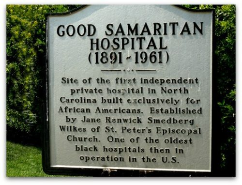 Good Samaritan Hospital Charlotte – Historic Marker in Charlotte