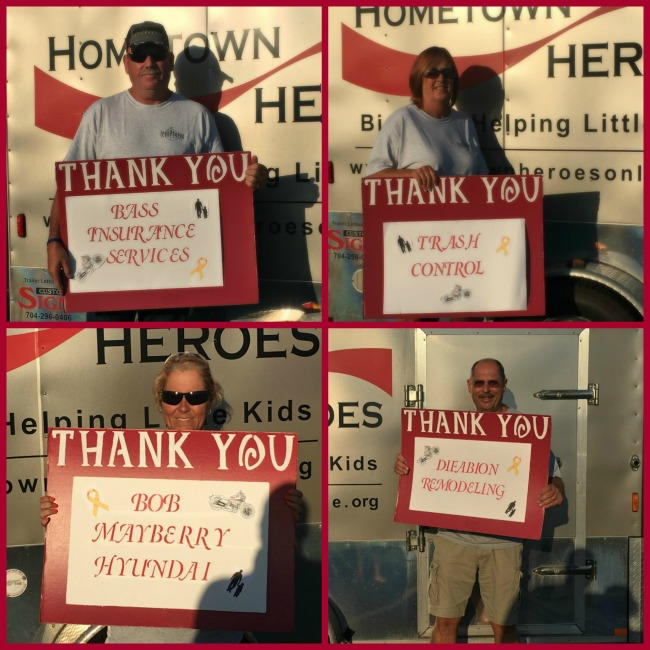 HomeTown Heroes Road Tour and Kick Off Sponsors