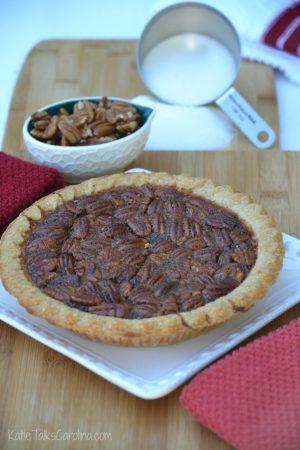 Spiced Pecan Pie