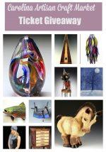 Carolina Artisan Craft Market Ticket Giveaway