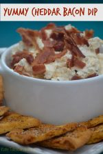 The Best Cheddar Bacon Dip