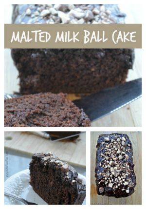 Malted Milk Ball Cake – Seriously Yummy