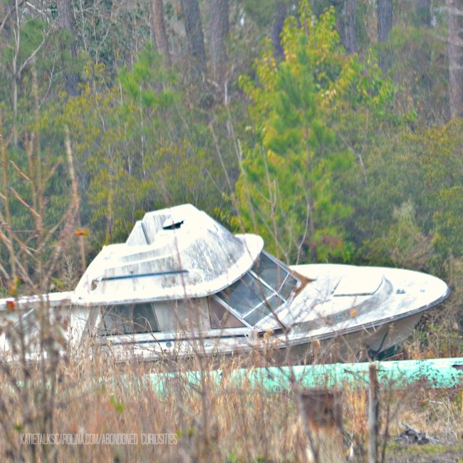 Abandoned Boat in Conway, SC - Katie Talks Carolina