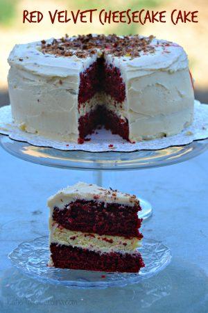 Red Velvet Cheesecake Cake Recipe – Delish!