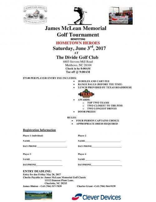 James McLean Memorial Golf Tournament