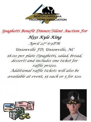 Kyle King Spaghetti Dinner Fundraiser