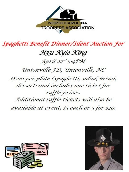 Kyle King Spaghetti Dinner Fundraiser
