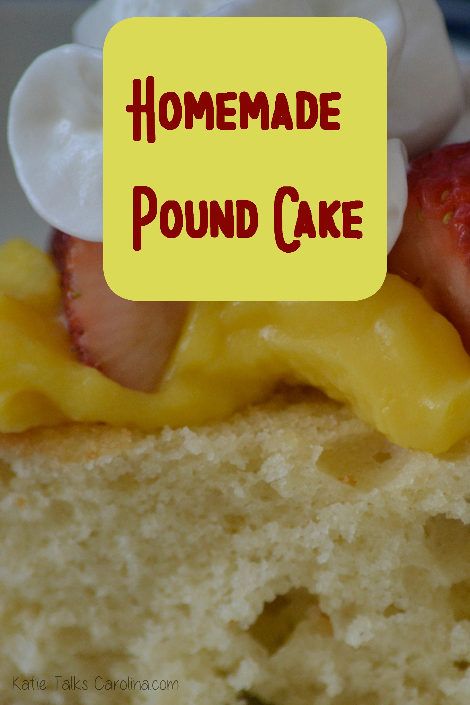 homemade pound cake 2