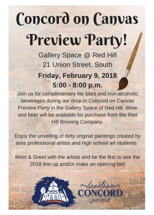 Concord on Canvas Preview Party