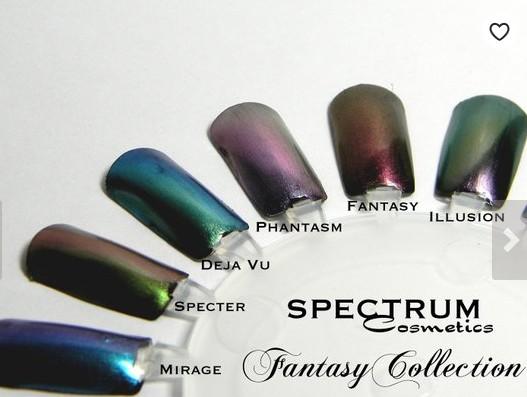 halograohic nail polish