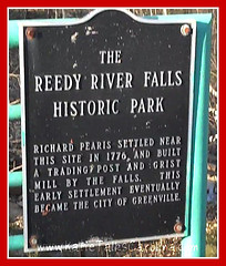 Reedy River Falls Park and Dinner in Greenville, SC