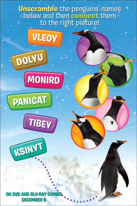 Mr. Popper's Penguins Activity Sheets – Fun for Kids