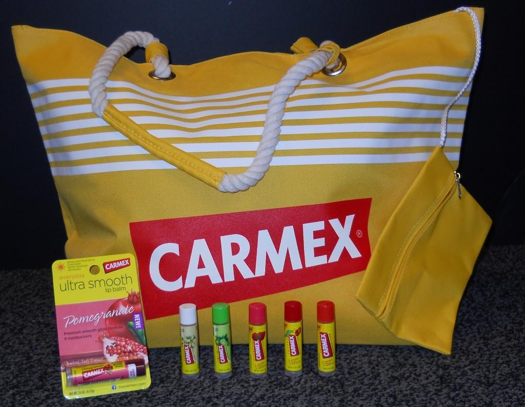 Carmex Tote and Lip Balm Giveaway @Carmex