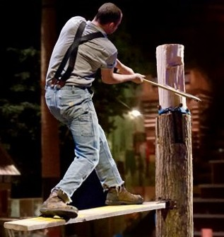 Lumberjack Feud And Dinner Show – Not Just For Men