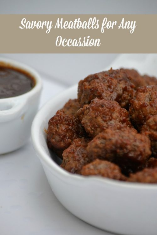 Simply Savory Meatballs Recipe