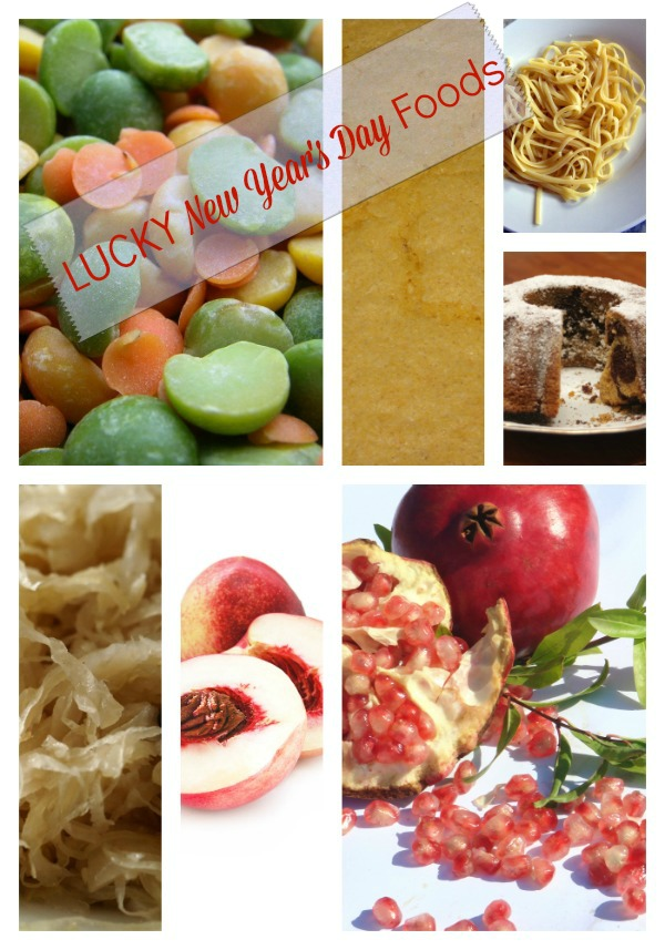 Traditional Lucky New Year's Day Foods