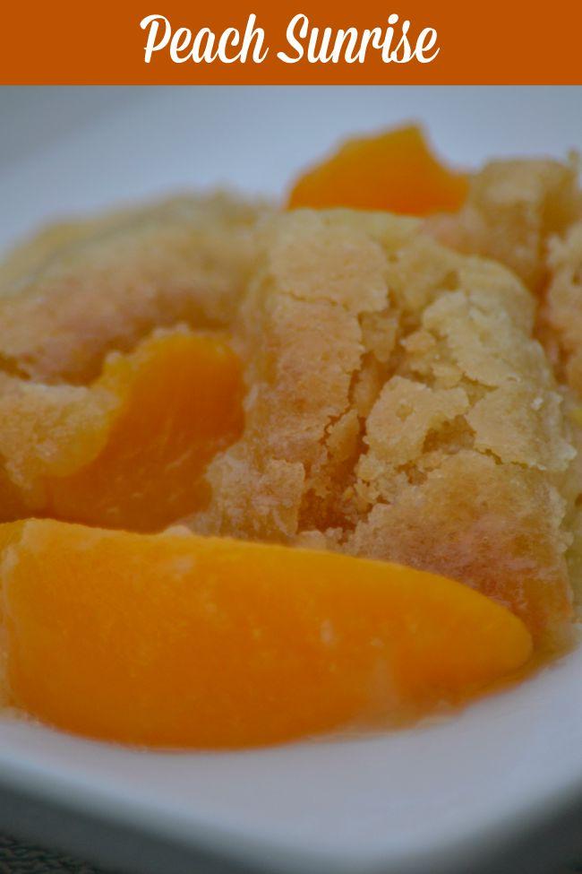 Peaches for Breakfast – Peach Sunrise